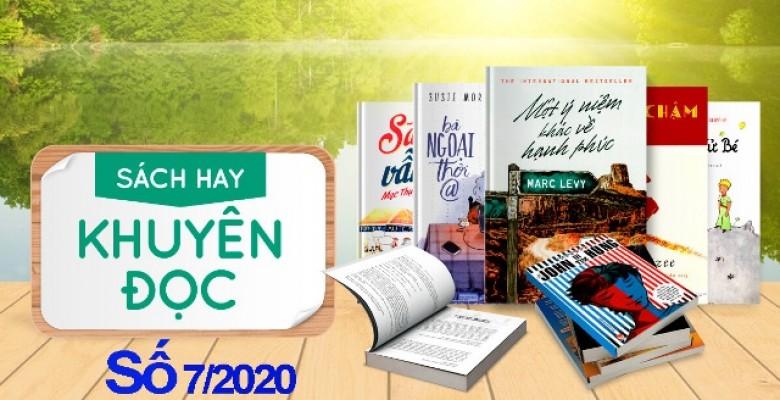 Sách hay tìm đọc tháng 7-2020