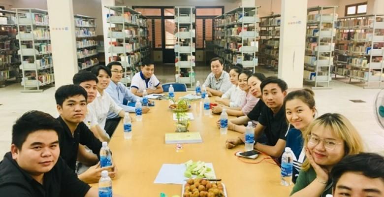 Trung tâm Thông tin, Thư viện Trường Đại học Văn hóa TP. Hồ Chí Minh tổng kết sinh viên thực tập tốt nghiệp năm 2019